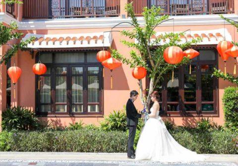 ベトナム・ホイアン挙式・結婚式 アレグロ・ホイアン ガーデンフォトウェディング