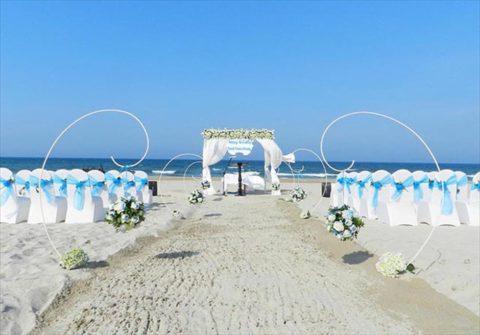 ダナンウェディング ベトナム・ダナン挙式&結婚式 センタラ・サンディ・ビーチ・リゾート ガーデンウェディング