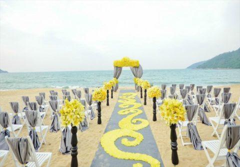 ベトナム・ダナン挙式・結婚式 インターコンチネンタル・ダナン ビーチウェディング