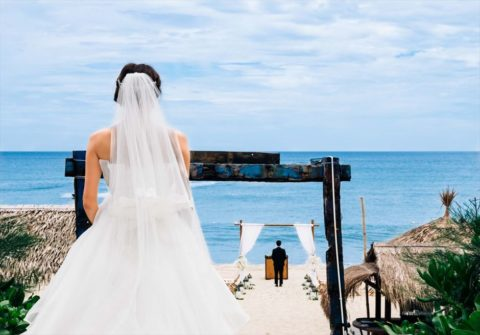 ベトナム挙式,ホイアン挙式&結婚式 リトルホイアンショアクラブ ビーチウェディング