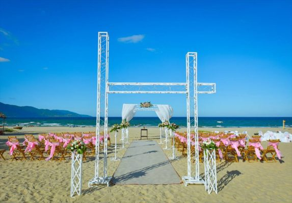 ダナンウェディング ベトナム・ダナン挙式&結婚式 フラマ・リゾート・ダナン ビーチウェディング