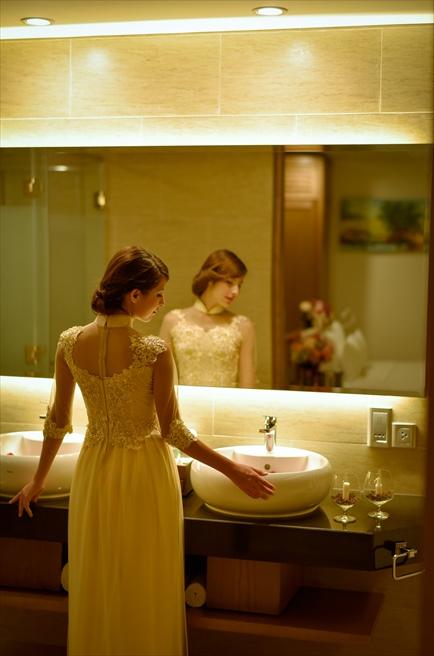 センタラ・サンディ・ビーチ・リゾート<br /> バスルームにて