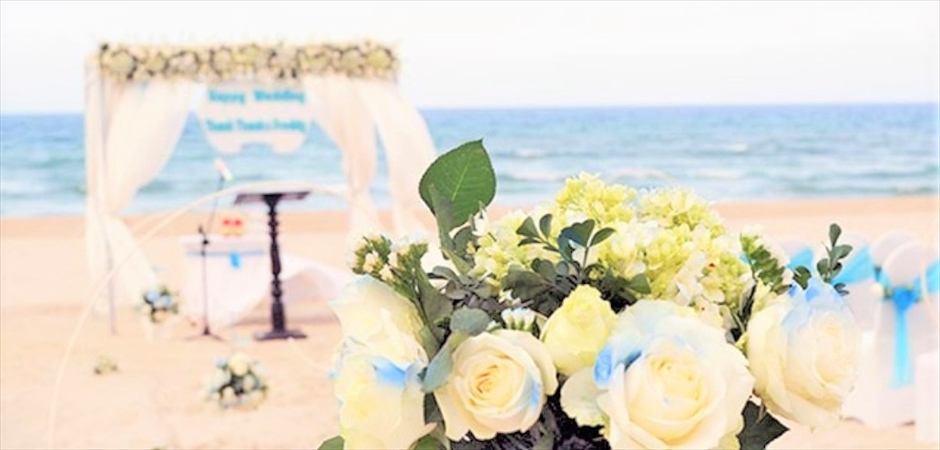 Sea Breeze Wedding at Sandy Beach