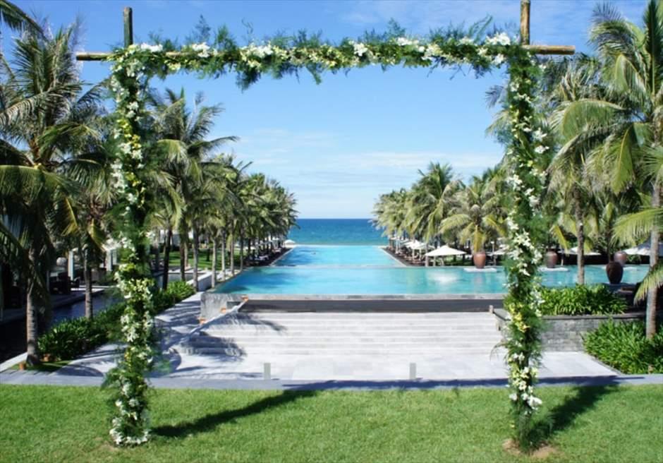 ベトナム結婚式 ダナン挙式 ベトナム・ガーデン挙式 ダナン・ガーデンウェディング