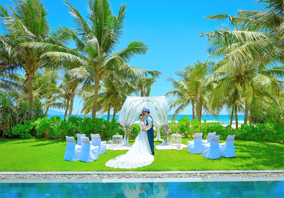 ベトナム・ダナン・ヴィラウェディング/ Fusion Maia Danang Villa Wedding/ フュージョン・マイア挙式