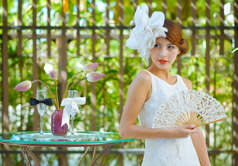 ホテル・ ロイヤル・ホイアン・Mギャラリー<br /> 蓮の蕾を添えてベトナム風に