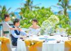 ベトナムウェディング ベトナム結婚式 ナマン・リトリート・ダナン ダナン・ガーデン挙式