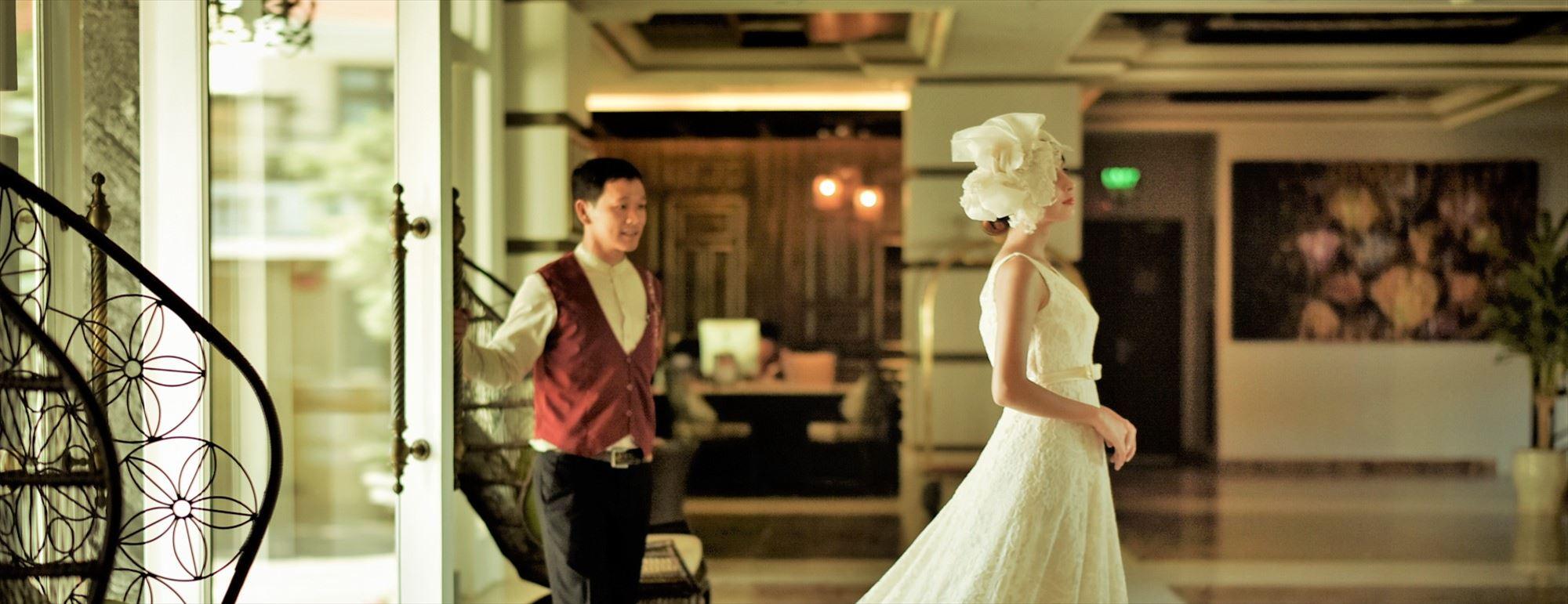 ベトナム・ホイアン・ホテル・ウェディング<br /> Hotel Royal Hoi An M Gallery by Sofitel Wedding<br /> ホテル・ロイヤル・ホイアン・Mギャラリー挙式