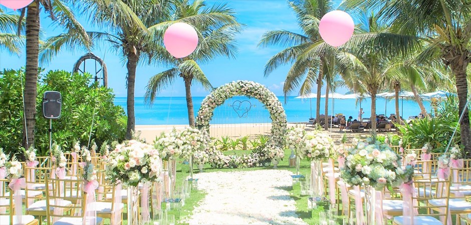 Elegant Wedding at Beach Front Garden