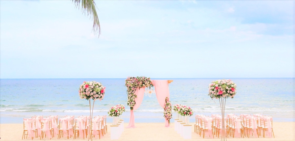Elegant Wedding at Coconut Beach