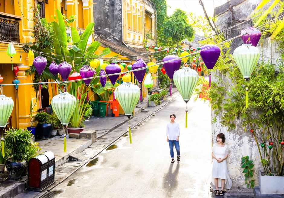 世界遺産ホイ・アン<br /> 色彩豊かなランタンの溢れる旧市街