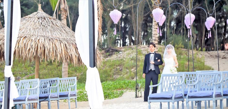 Lantern Wedding at An Bang Beach