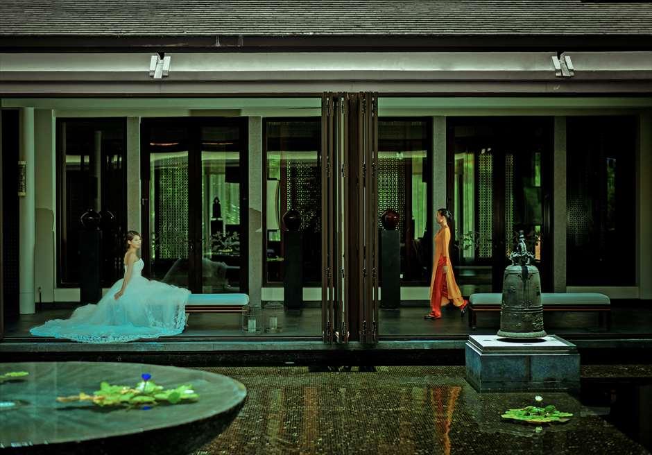 バンヤン・ツリー・ラン・コー<br /> ベトナムの伝統が薫る優雅なフォトウェディング