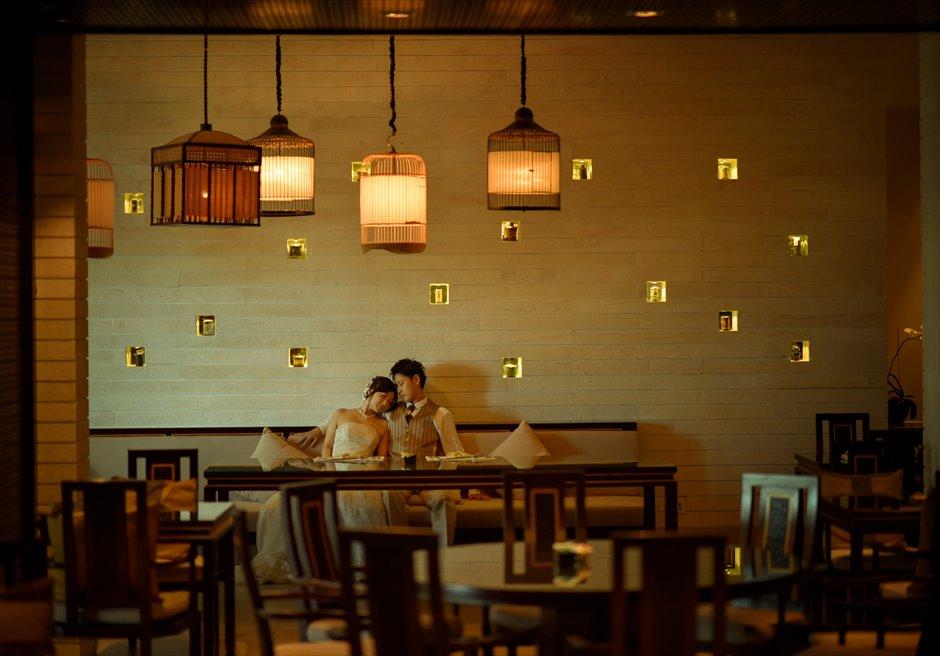 バンヤン・ツリー・ラン・コー<br /> ゆったりとした時間の流れるレストランにてフォトウェディング