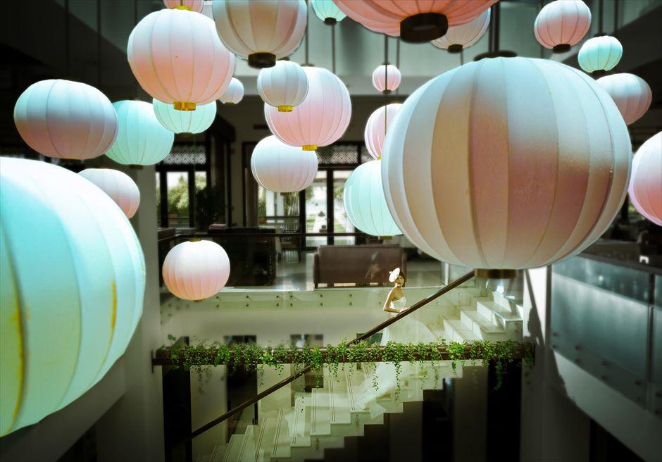 フュージョン・マイア・ダナン<br /> ホワイト&ピンク デザイナーズリゾートでフォトウェディング