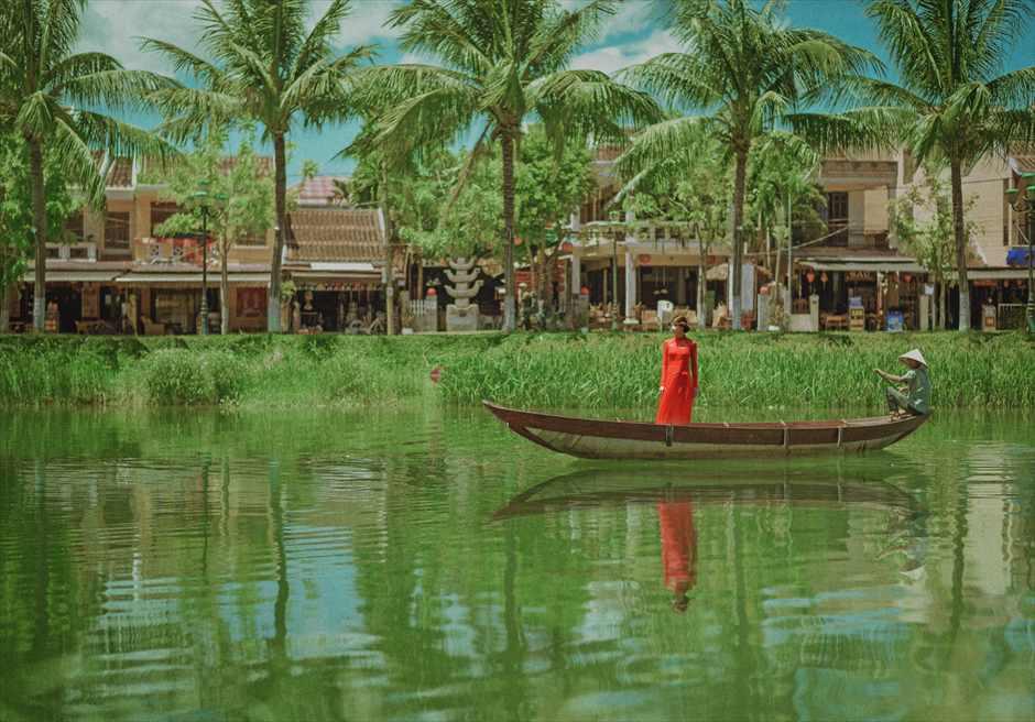 世界遺産ホイ・アン<br /> ホイアンリバー・小舟に乗って