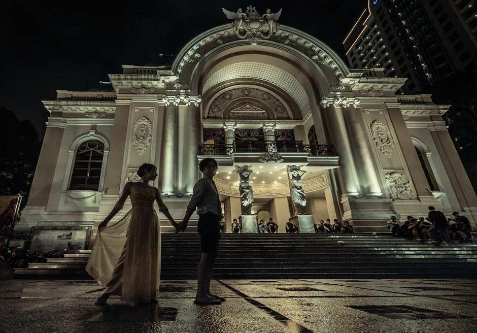 ホーチミン・フォトウェディング<br /> オペラハウス