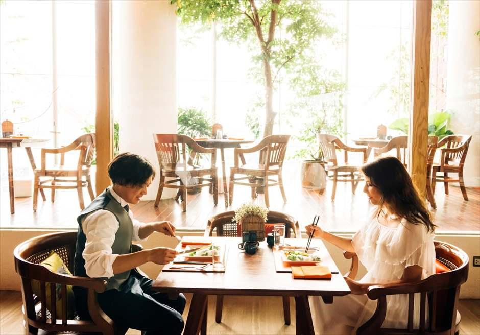 ホーチミン・フォトウェディング<br /> ミスト・ドンコイ・ホテル<br /> レストラン