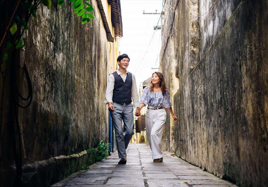 世界遺産ホイアン<br /> 旧市街の小道