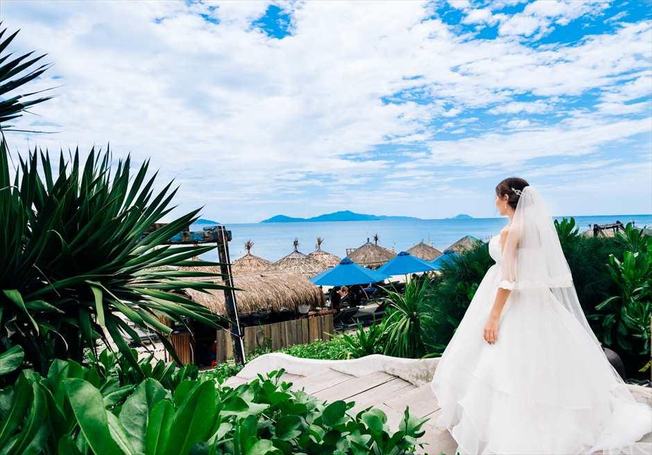 リトル・ホイアン・ショア・クラブ<br /> ベトナムらしい雰囲気の漂うビーチを望むフォトウェディング