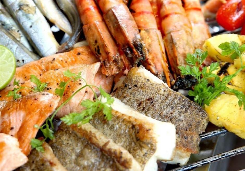 ベトナム挙式 ダナン挙式 ライズマウント・プレミア・リゾート・ダナン シーフード・BBQ