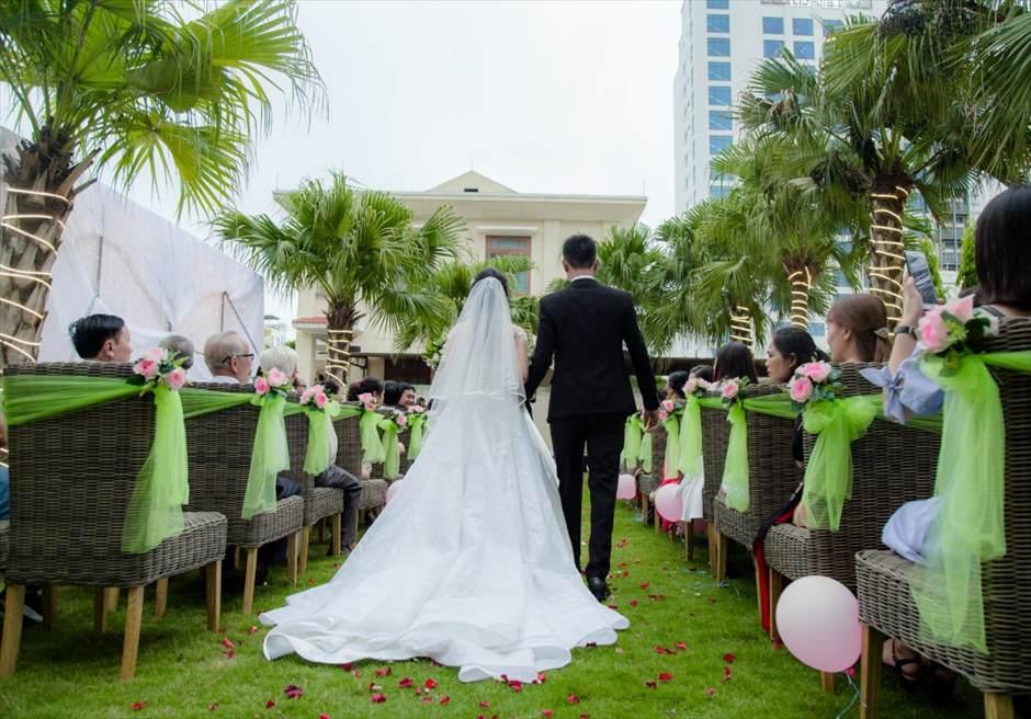 ダナン・ガーデン挙式 ベトナム・ガーデンウェディング ライズマウント・プレミア・リゾート ダナン結婚式