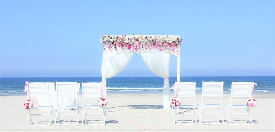 Vast Beach Wedding at Blue Ocen Beach