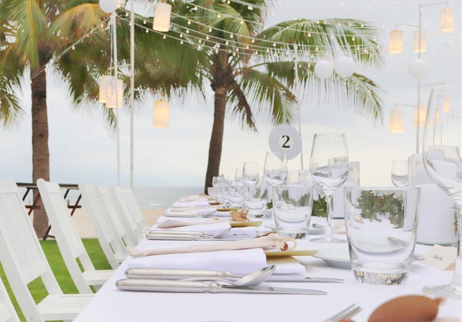 ハイアット・リージェンシー・ダナン<br>海を眺めながら行うガーデンパーティー