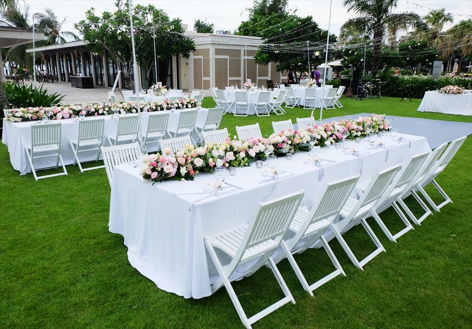 ハイアット・リージェンシー・ダナン<br>生花テーブル装飾