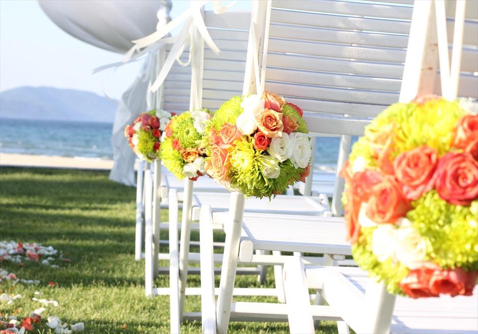 ハイアット・リージェンシー・ダナン<br /> トロピカル装飾のビーチガーデン挙式