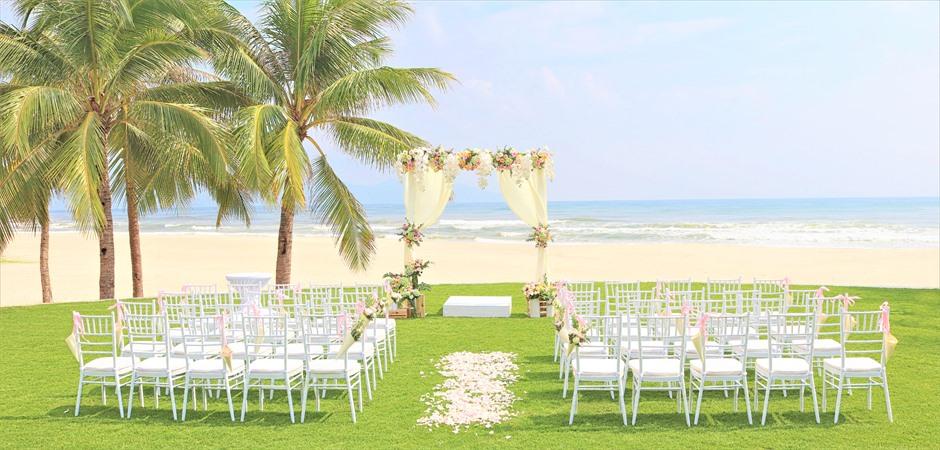 Beach Front Wedding at Palm Garden