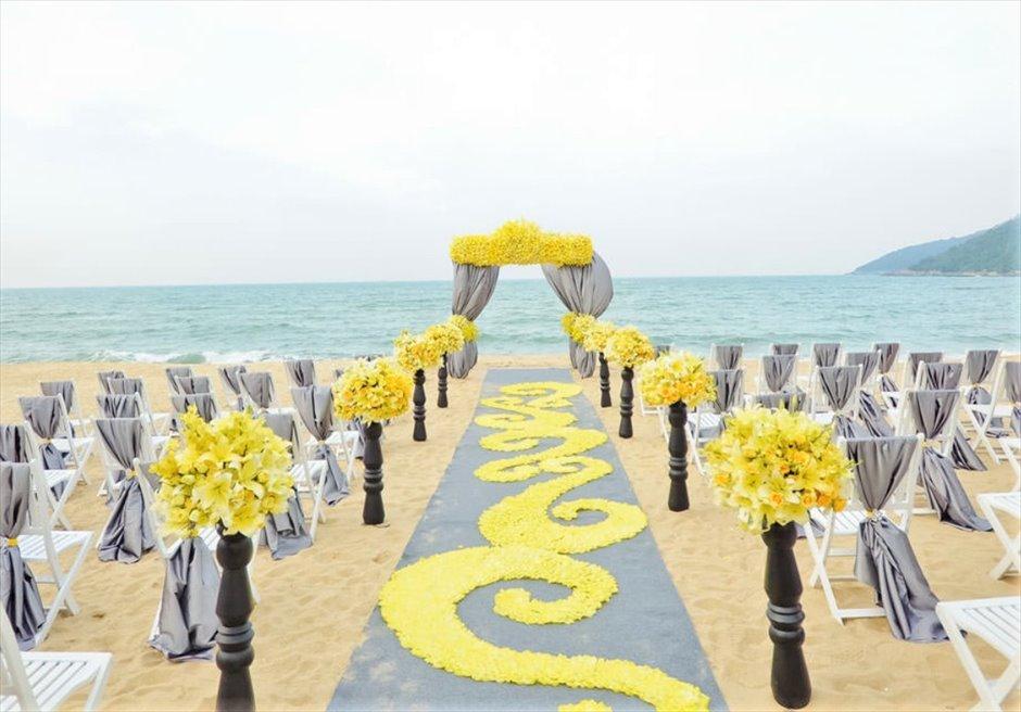インターコンチネンタル・ダナン インターコンチネンタル・ダナン・ウェディング ダナン挙式 ベトナム結婚式