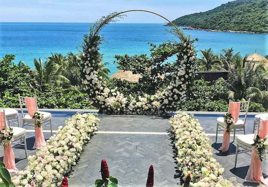 インターコンチネンタル・ダナン ダナン・ウェディング インターコンチネンタル・ダナン・挙式 ベトナム結婚式