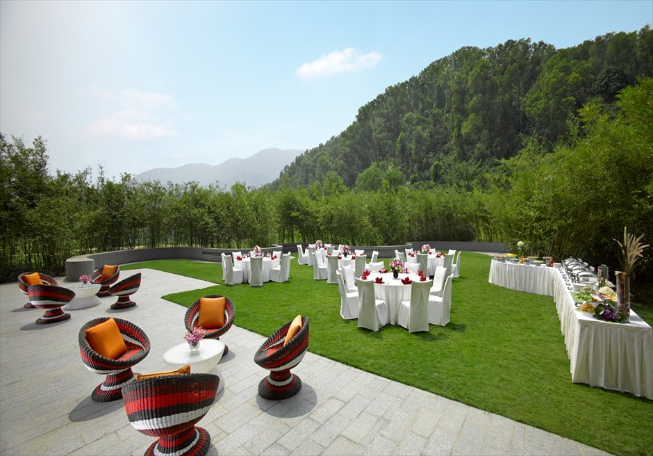 アンサナ・ランコ― ベトナム・ガーデンウェディング ベトナムウェディング ベトナム挙式