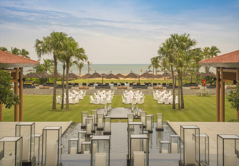 アンサナ・ランコ― ベトナム・ガーデンウェディング ダナン挙式 ダナン結婚式 ベトナム・ウェディング