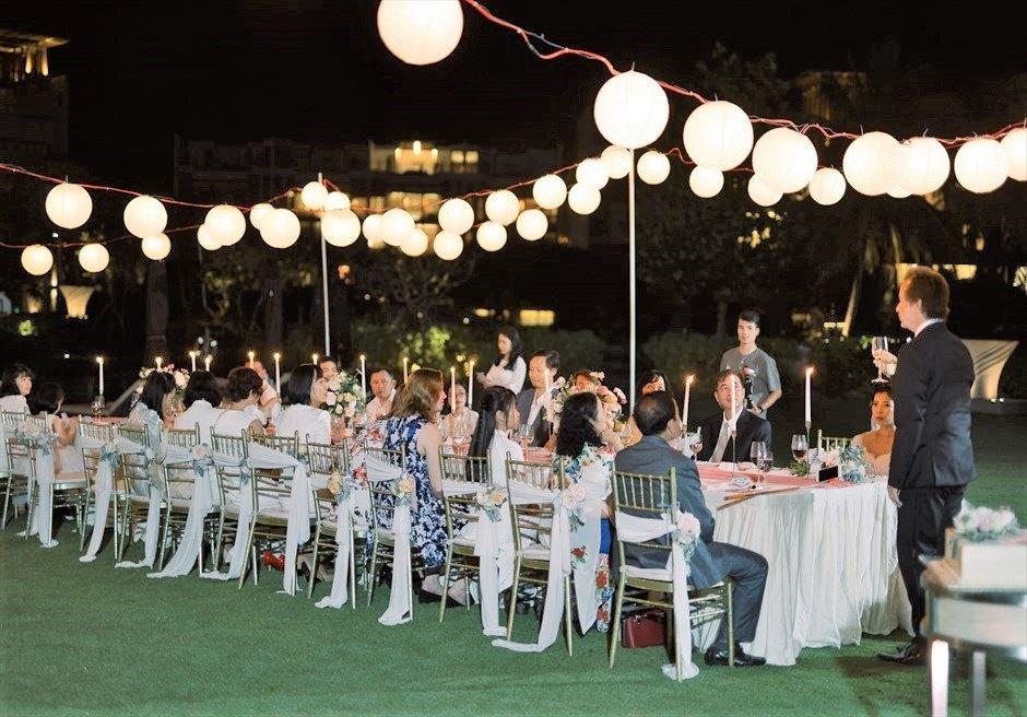 ベトナム・ガーデンパーティー アンサナ・ランコ― ダナンウェディング ダナン結婚式