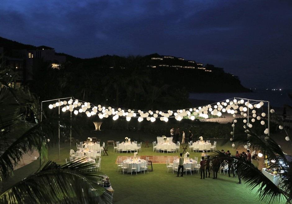 ベトナム・ナイトパーティー ベトナムウェディング アンサナ・ランコ― リゾート・ガーデンウェディング