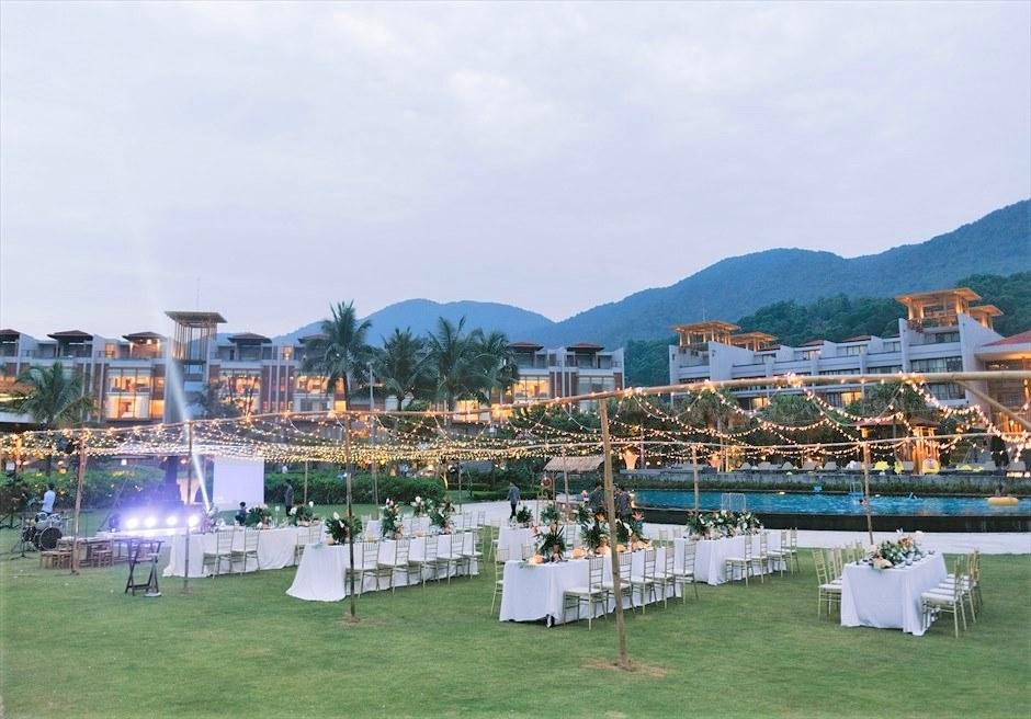 ベトナム挙式 アンサナ・ランコ― ベトナム・ガーデンパーティー ベトナム挙式