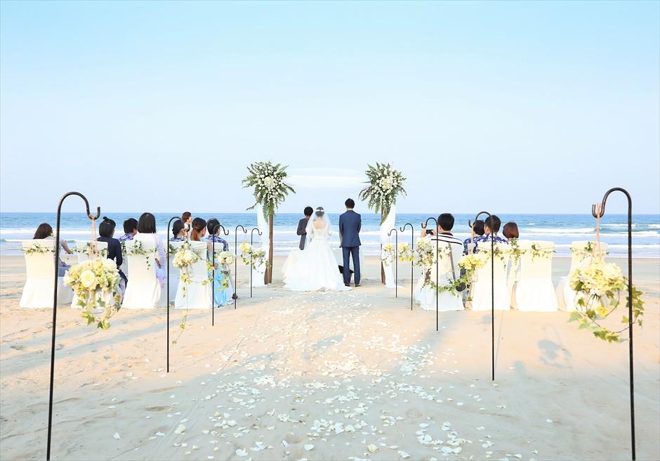 ベトナム・ビーチウェディング ベトナム結婚式 ダナン挙式 ナマン・リトリート・ダナン