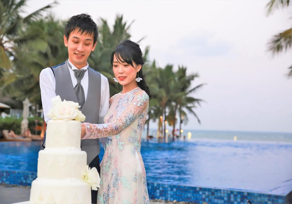 ベトナム・パーティー ベトナム挙式 ナマン・リトリート・ダナン ベトナム結婚式