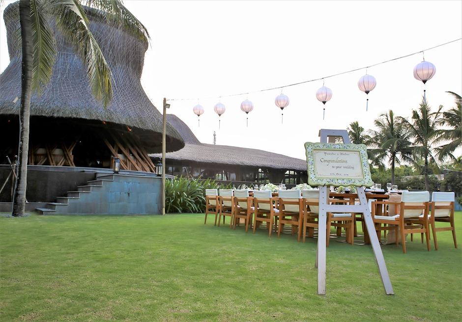 ベトナム・ガーデンウェディング ナマン・リトリート・ダナン ダナンウェディング ベトナム結婚式