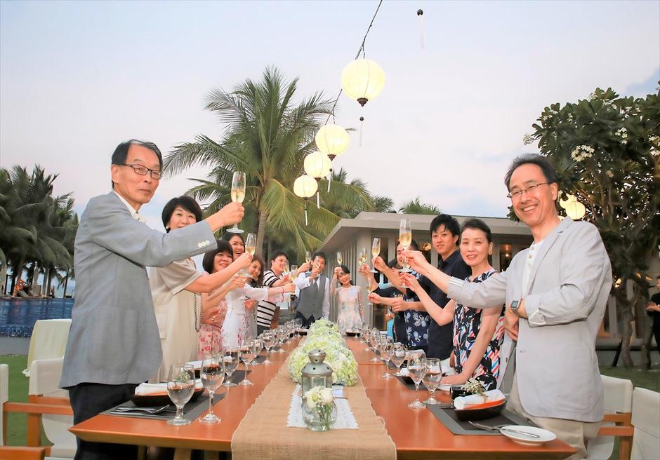 ベトナム・リゾートウェディング ベトナム挙式 ダナン・ウェディングパーティー ナマン・リトリート・ダナン