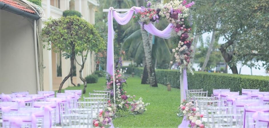 River View Wedding at Natural Garden