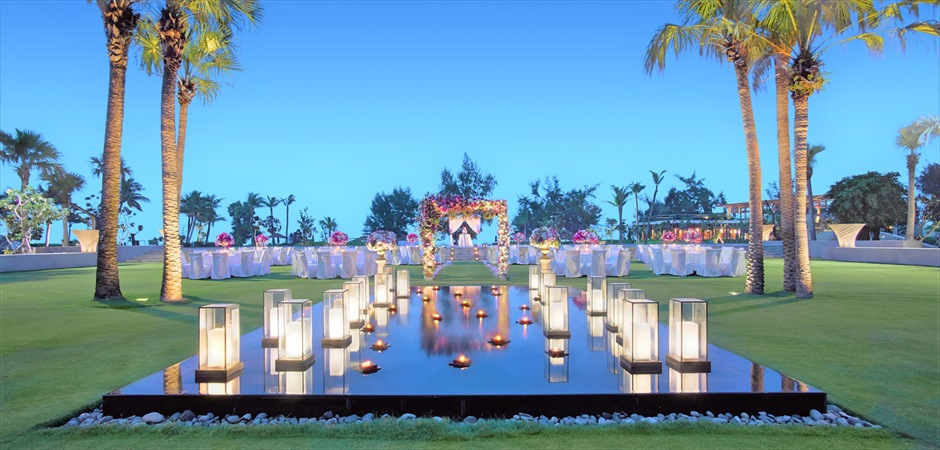 Elegant Wedding at Angsana Garden