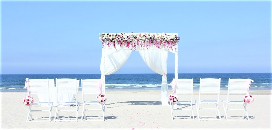Hyatt Regency Danang Resort Vast Beach Wedding at Blue Ocen Beach