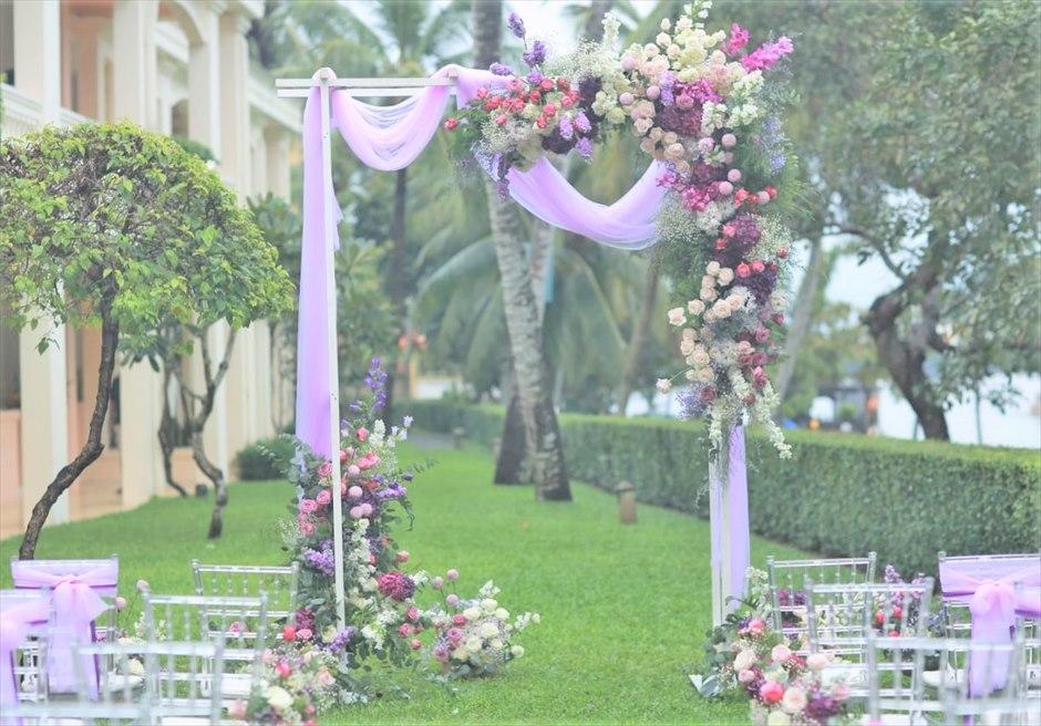 アナンタラ・ホイアン・リゾート ホイアン・ガーデン挙式 ホイアン・トゥボン川 ホイアン結婚式